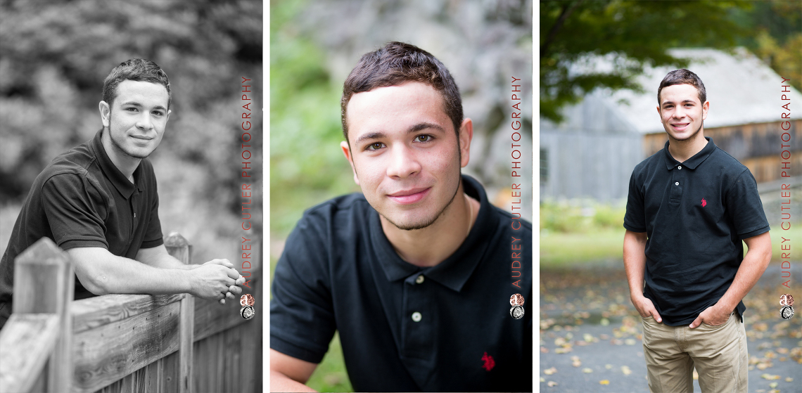 © Audrey Cutler Photography - High School Senior Yearbook - Moore State Park Paxton MA