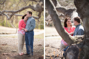 The Doyle Conservation Center Spring Engagement- Central Massachusetts Wedding Photographers © Audrey Cutler Photography