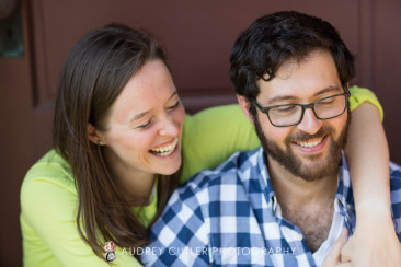 summertime engagement photography in Central Massachusetts