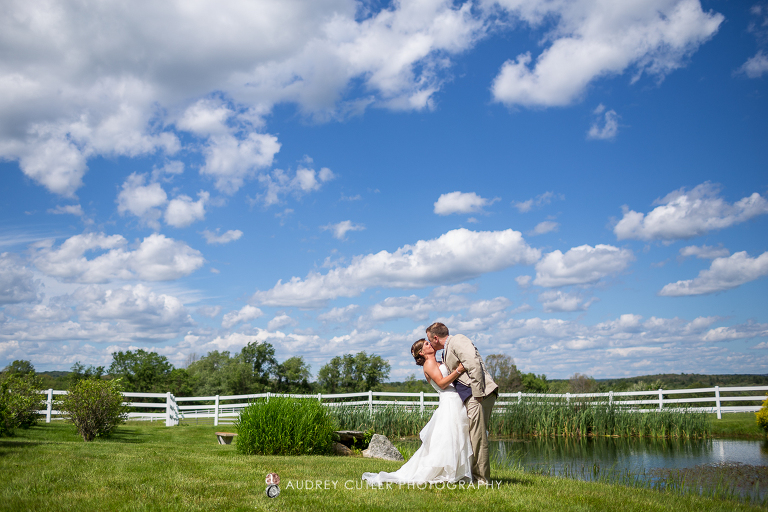 Misty Meadows Farm Wedding Natural Massachusetts